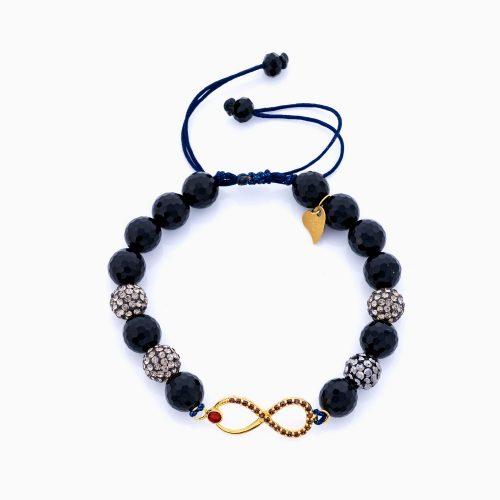 دستبند طلا 18 عیار زنانه مدل BL0192