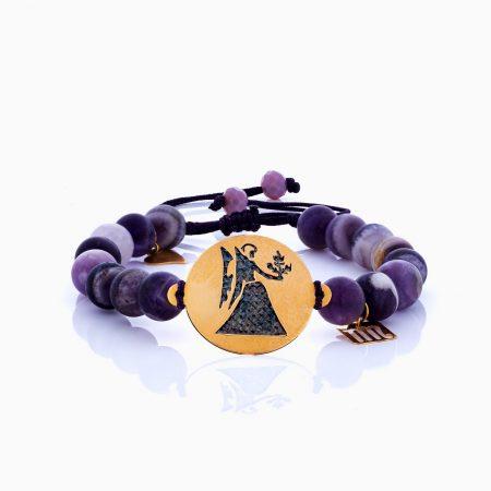 دستبند طلا 18 عيار زنانه مدل BL0198