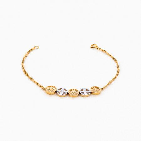 دستبند طلا 18 عيار زنانه مدل BL0224