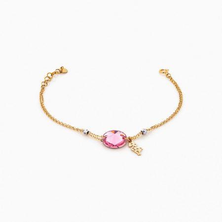 دستبند طلا 18 عيار زنانه مدل BL0225