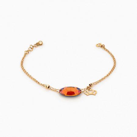 دستبند طلا 18 عيار زنانه مدل BL0227