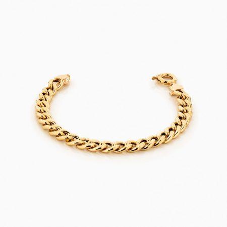 دستبند طلا 18 عيار مردانه مدل BL0228