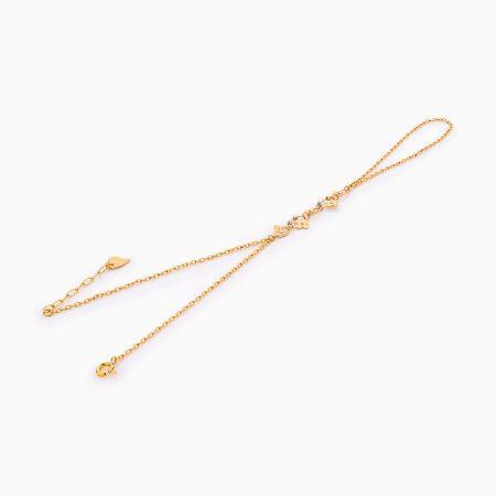 دستبند طلا 18 عيار زنانه کد BL0255