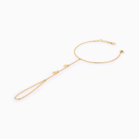 دستبند طلا 18 عيار زنانه کد BL0257
