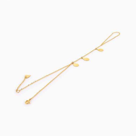 دستبند طلا 18 عيار زنانه کد BL0259