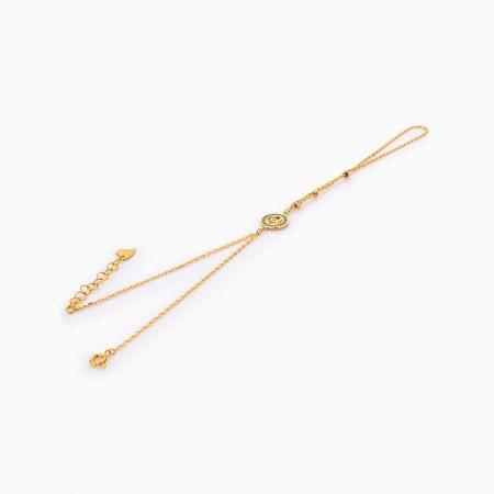 دستبند طلا 18 عيار زنانه کد BL0260