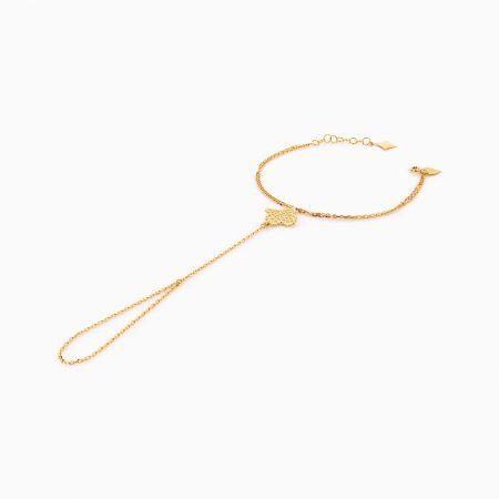 دستبند طلا 18 عيار زنانه کد BL0261