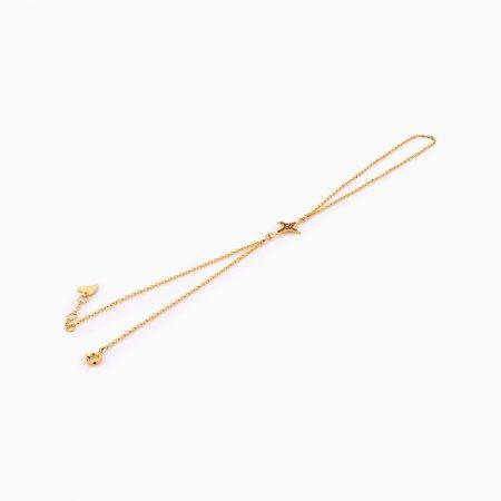 دستبند طلا 18 عيار زنانه کد BL0262