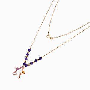 گردنبند طلا 18 عيار زنانه مدل ستاره دريايي کد NL0139