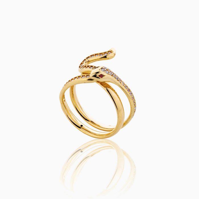 انگشتر طلا 18 عيار زنانه مدل RG0242