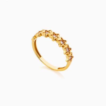 انگشتر طلا 18 عيار زنانه فانتزي کد RG0286