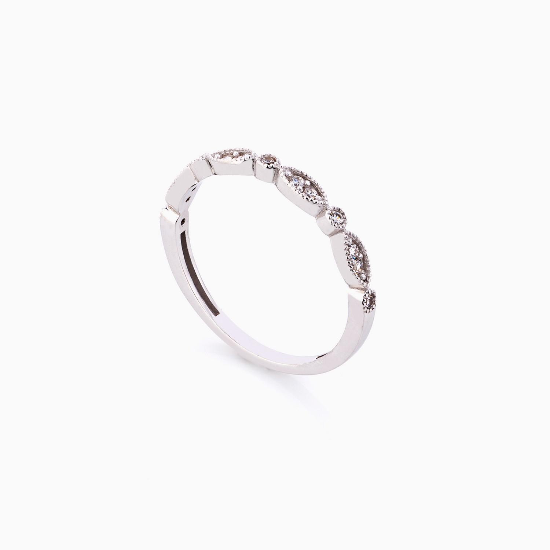 انگشتر طلا 18 عيار زنانه فانتزي کد RG0289