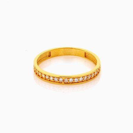 انگشتر طلا 18 عيار زنانه فانتزي کد RG0290