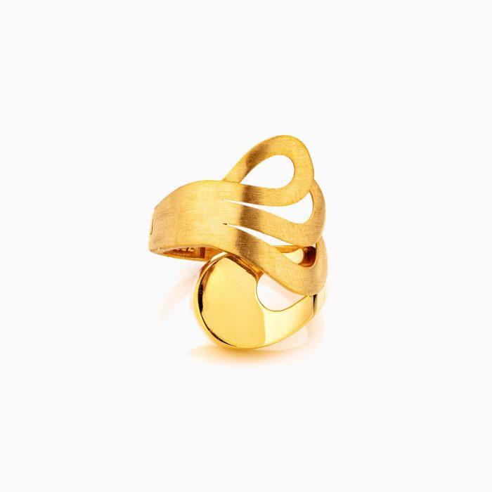 انگشتر طلا 18 عيار زنانه مدل RG0301