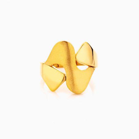 انگشتر طلا 18 عيار زنانه مدل RG0303