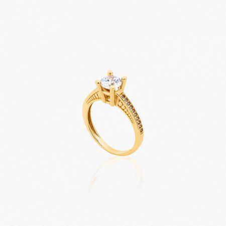 انگشتر طلا 18 عيار کد RG0315