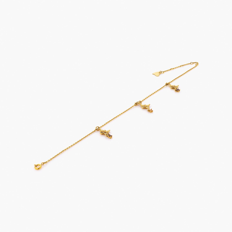 پابند طلا 18 عیار کد al0074