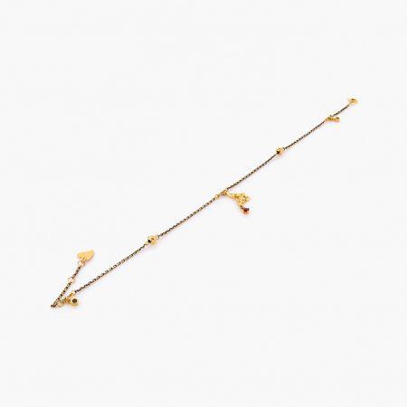 پابند طلا 18 عيار کد al0077