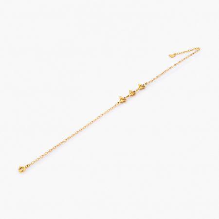 پابند طلا 18 عيار کد al0078