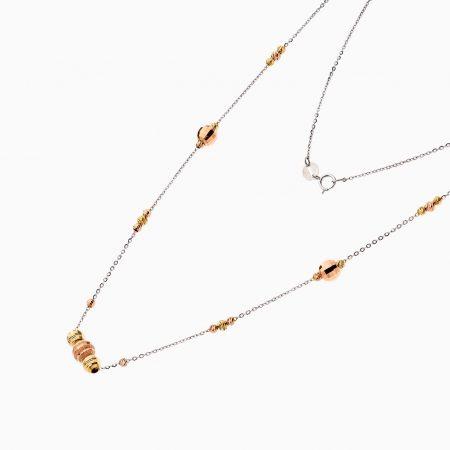 گردنبند طلا 18 عيار زنانه کد NL0181