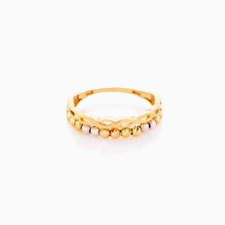 انگشتر طلا 18 عيار زنانه کد RG0345