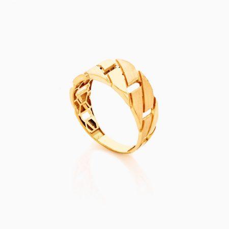 انگشتر طلا 18 عيار زنانه کد RG0351