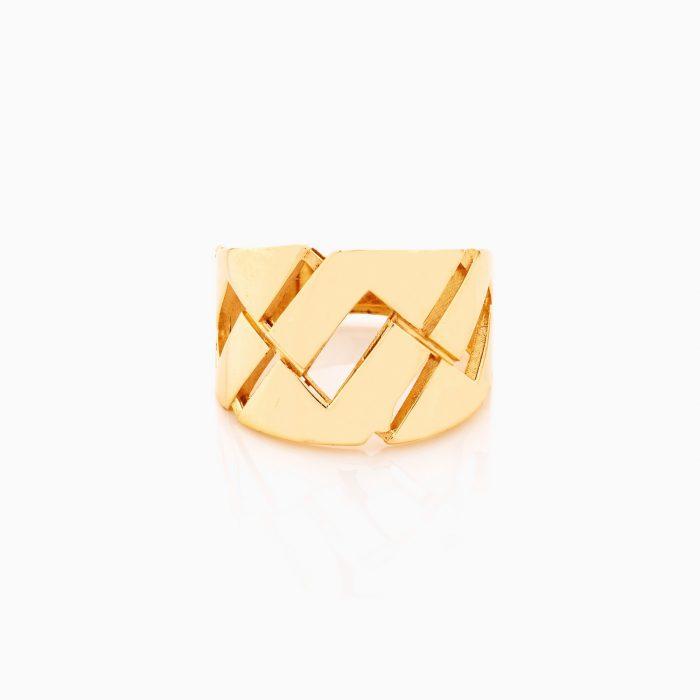 انگشتر طلا 18 عيار زنانه کد RG0352