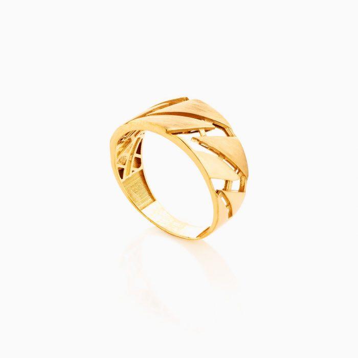 انگشتر طلا 18 عيار زنانه کد RG0353