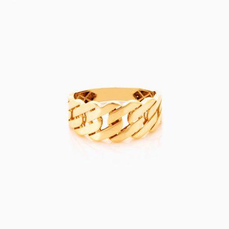 انگشتر طلا 18 عيار زنانه کد RG0355
