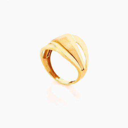 انگشتر طلا 18 عيار زنانه کد RG0359