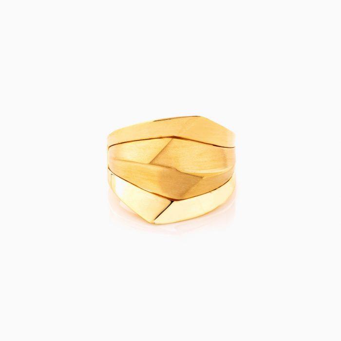 انگشتر طلا 18 عيار زنانه کد RG0360
