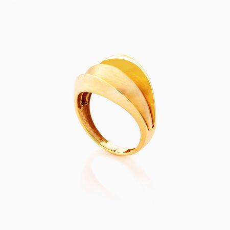 انگشتر طلا 18 عيار زنانه کد RG0361
