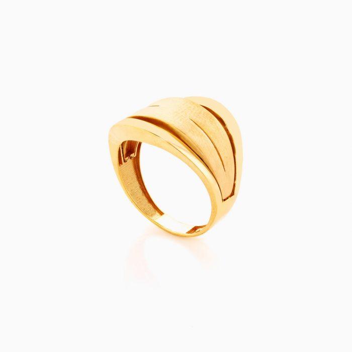 انگشتر طلا 18 عيار زنانه کد RG0362