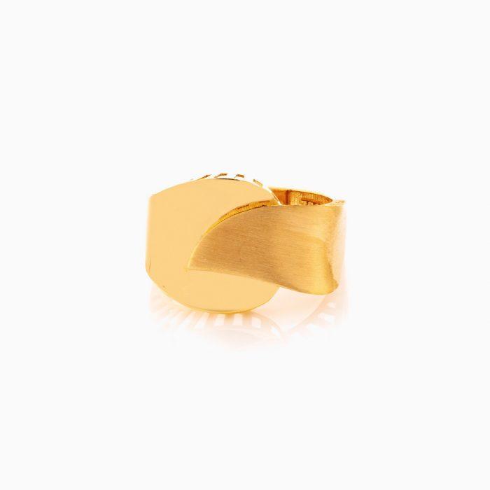 انگشتر طلا 18 عيار زنانه کد RG0363