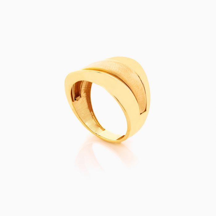 انگشتر طلا 18 عيار زنانه کد RG0364