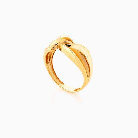 انگشتر طلا 18 عيار زنانه کد RG0365