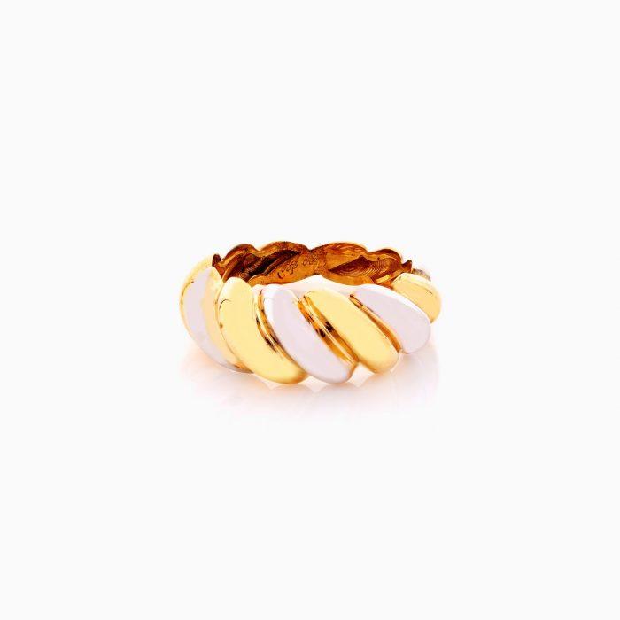 انگشتر طلا 18 عيار زنانه کد RG0366