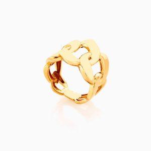 انگشتر طلا 18 عيار زنانه کد RG0367