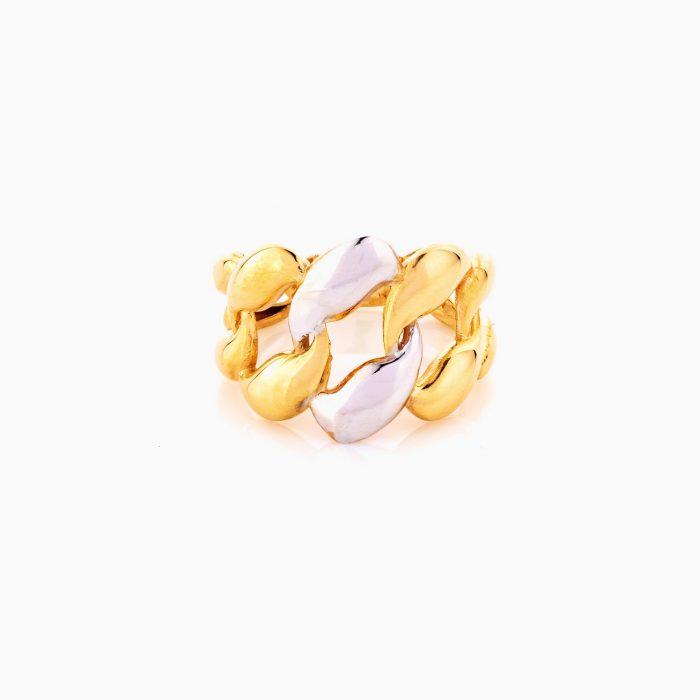 انگشتر طلا 18 عيار زنانه کد RG0368