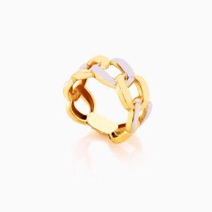 انگشتر طلا 18 عيار زنانه کد RG0369