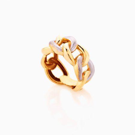انگشتر طلا 18 عیار زنانه مدل کارتیر کد RG0370