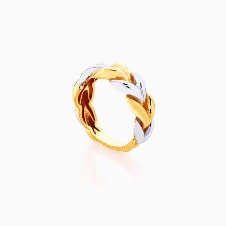 انگشتر طلا 18 عيار زنانه کد RG0371