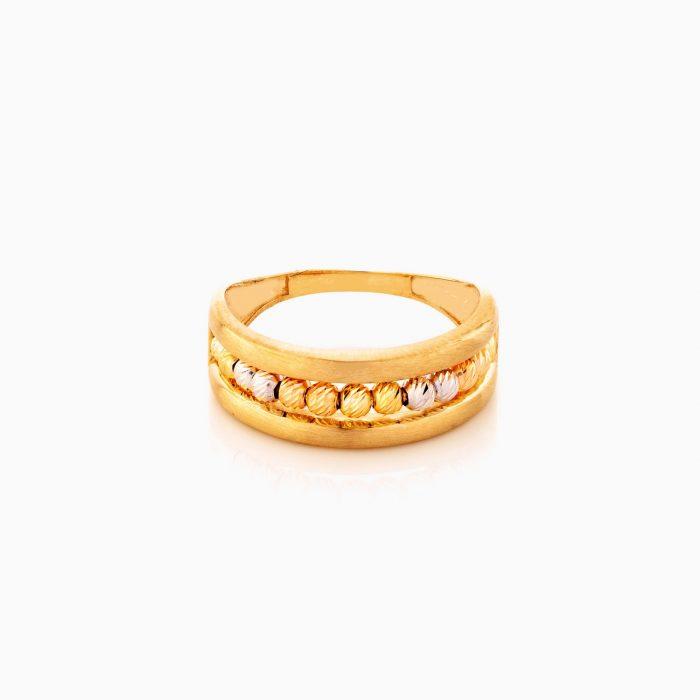 انگشتر طلا 18 عيار زنانه کد RG0372