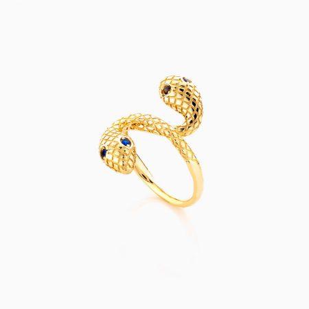 انگشتر طلا 18 عیار زنانه مدل ماری کد RG0406