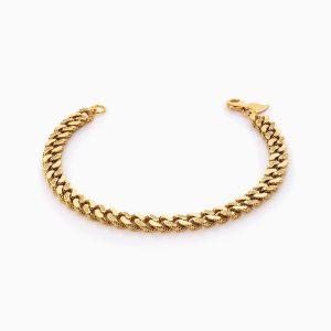 دستبند طلا 18 عیار زنانه مدل کارتیر کد BL0313
