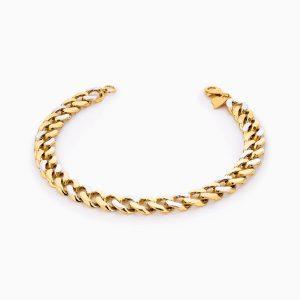 دستبند طلا 18 عیار زنانه مدل کارتیر کد BL0317