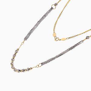 گردنبند طلا 18 عیار زنانه مدل آلبرنادو کد NL0238