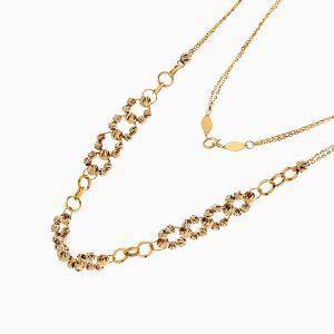گردنبند طلا 18 عیار زنانه مدل آلبرنادو کد NL0240