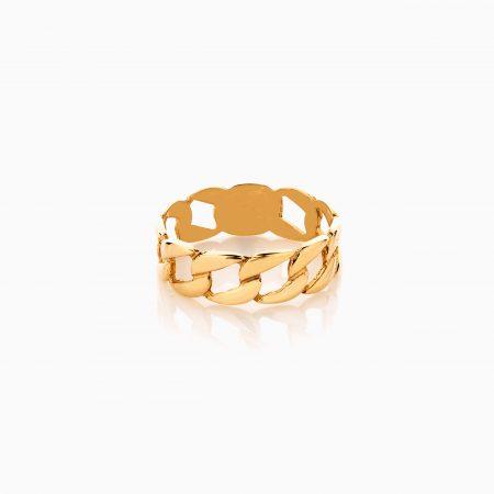 انگشتر طلا 18 عیار زنانه طرح کارتیر کد RG0475