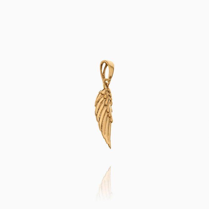 نیم ست طلا 18 عیار زنانه فانتزی مدل بال فرشته کد ST0154